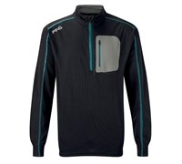 Ping Collection Junior Reagan Pullover 2014 (Black/Dark Cyan)