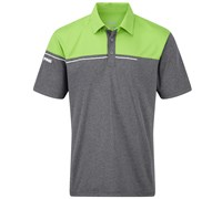 Ping Collection Mens Jet Polo Shirt 2014 (Dark Grey/Green)
