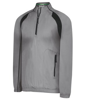 Adidas Mens ClimaProof Wind Half-Zip Stretch Jacket