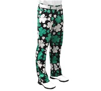 Royal And Awesome Paddy Par Golf Trouser (Green/White)