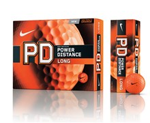 Nike Power Distance PD8 Long Orange Golf Balls 12 Balls