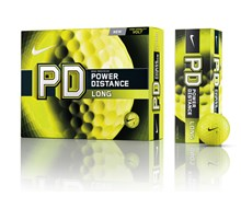 Nike Power Distance PD8 Long Volt Golf Balls 12 Balls