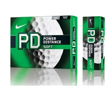 Nike Power Distance PD8 Soft Golf Balls  White - 12 Balls