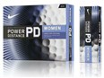 Nike Power Distance PD7 Ladies Golf Balls  White - 12 Balls