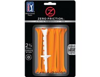 Zero Friction PGA Tour 3-Prong Performance Tees