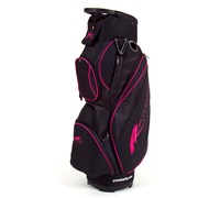 Powakaddy Ladies Deluxe Nylon Cart Bag 2014 (Black/Pink)
