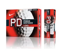 Nike Power Distance PD8 Long Golf Balls 12 Balls