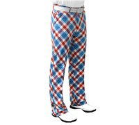 Royal And Awesome Plaid A Blinder Golf Trouser (Blue/Red/White)