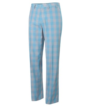 Adidas Mens FP Plaid Golf Trousers 2012