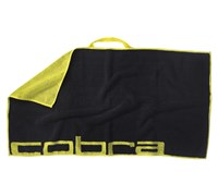 Cobra Players Towel (Black/Yellow)