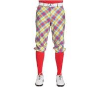 Royal And Awesome Plaid Awesome Tartan Golf Plus Twos (Multi Coloured)
