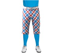 Royal And Awesome Plaid A Blinder Golf Plus Twos (Blue/Red/White)