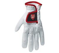 Puma Golf All Leather Limited Edition Arsenal Golf Glove (White)