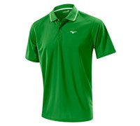 Mizuno Mens Performance Pique Golf Polo Shirt 2014 (Green)