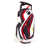 Powakaddy Premium Cart Bag (White/Red/Black)