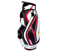 Powakaddy Premium Cart Bag 2013 (Black/White/Red)
