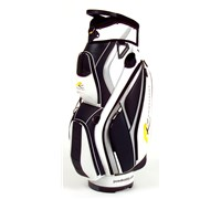 Powakaddy Premium Cart Bag (White/Silver/Black)