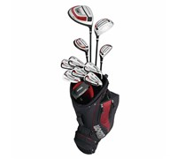 Wilson Staff Mens Prostaff CX Premium Package Set  Steel/Graphite
