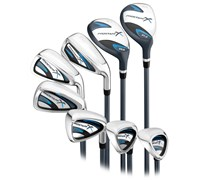 Wilson Ladies Prostaff X Combo Iron Set 2013  Graphite Shaft