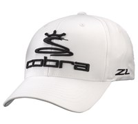 Cobra Pro Tour Flexfit Cap (White)