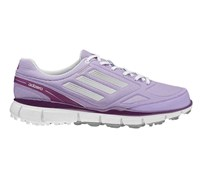 Adidas Ladies Adizero Sport II Golf Shoes 2014 (Purple/White)