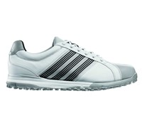 Adidas Mens Adicross Tour Spikeless Golf Shoes 2013 (White/Aluminium/Black)