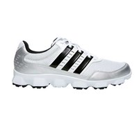 Adidas Mens Crossflex Sport Golf Shoes 2014 (White/Black/Silver)