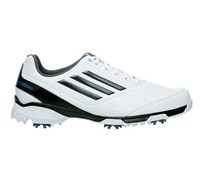 Adidas Mens Adizero TR Golf Shoes 2014 (White/Black/Blue)