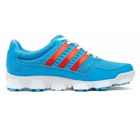 Adidas Mens Limited Edition Crossflex SP1 Golf Shoes 2014 (Cyan/Dark Orange)