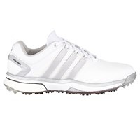 Adidas Mens Adipower Boost Golf Shoes 2015 (White/Silver)