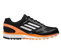 Adidas Mens Adizero Sport II Golf Shoes 2014 (Black/White/Orange)