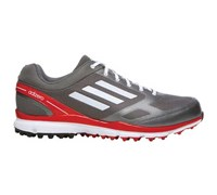 Adidas Mens Adizero Sport II Golf Shoes 2014 (Silver/White/Red)
