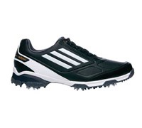 Adidas Mens Adizero TR Golf Shoes 2014 (Black/White/Orange)