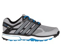 Adidas Mens Adipower Sport Boost Golf Shoes 2015 (Light Onix/Silver/Blue)