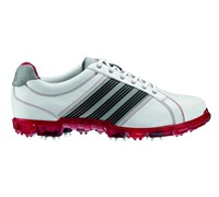 Adidas Mens Adicross Tour Golf Shoes 2013 (White/University Red/Metallic Silver)