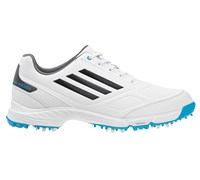 Adidas Junior Adizero Golf Shoes 2014 (White/Silver/Blue)