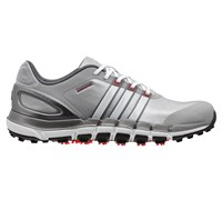 Adidas Mens Pure 360 Gripmore Sport Golf Shoes 2014 (Light Onix/White)