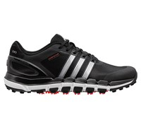 Adidas Mens Pure 360 Gripmore Sport Golf Shoes 2014 (Black/Metallic Silver)
