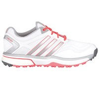Adidas Ladies Adipower Sport Boost Golf Shoes 2015 (White/Silver)