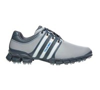 Adidas Mens Tour 360 ATV M1 Golf Shoes 2014 (Aluminium/White)