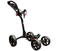Eze Glide Compact Quad 4-Wheel Trolley (Black)