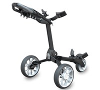 Stewart Golf R1 Push Trolley (Black/White)