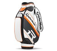 TaylorMade TMX T2 R1 Cart Bag 2013 (White/Grey/Orange)
