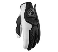 Callaway Rain Series Golf Gloves (Black/White)
