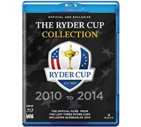Ryder Cup Official Ultimate Collection DVD - Blue Ray  2010-2014