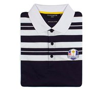 Glenmuir Mens Ryder Cup Ochil Cotton Polo Shirt (Navy/White)