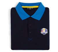 Glenmuir Mens Ryder Cup Strathearn Performance Polo Shirt (Navy/Blue)