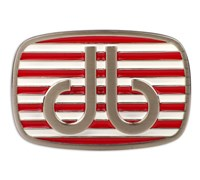 Druh Stripe Red/White Belt Buckle (Red/White)