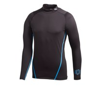 Puma Golf Mens Long Sleeve Monoline Mock Baselayer 2014 (Black/Blue)