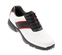 FootJoy GreenJoys Series Golf Shoes 2012 (White/Black/Red)